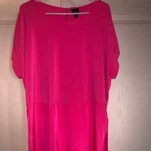 Hot Pink Party Blouse